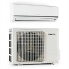 Klarstein Windwaker B 12, alb, Inventor Split, aer condiționat, 1200 BTU, A +, 12000 BTU, Inverter, Standard