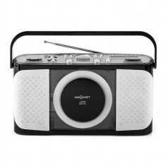ONEconcept Boomtown Beach CD player portabil MP3 USB Radio complet mobil