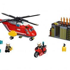 LEGO City - Unitatea de interventie de pompieri 60108