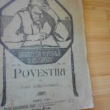 I. AGARBICEANU--POVESTIRI - 1920 - Carte veche