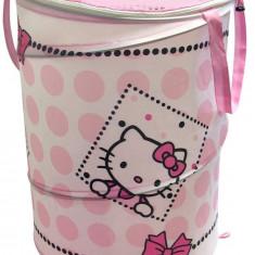 Sac pentru depozitare jucarii Hello Kitty - Sistem depozitare jucarii, Textil, Multicolor