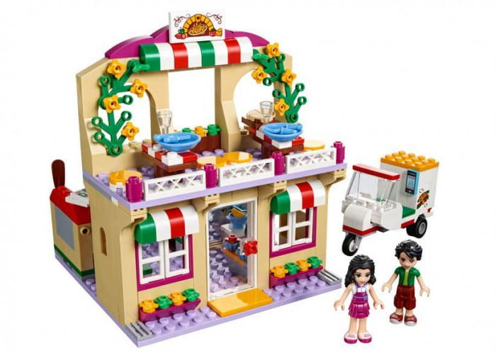 LEGO Friends - Pizzeria Heartlake 41311 foto mare