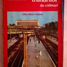 Mersul trenurilor de calatori 1 iunie 1986/30 mai 1987