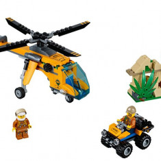 LEGO City - Elicopter de marfa in jungla 60158