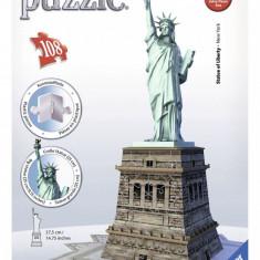 Puzzle Ravensburger 3D STATUIA LIBERTATII 180 PIESE