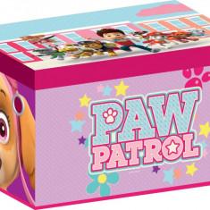 Cutie pentru depozitare jucarii Paw Patrol Girl - Sistem depozitare jucarii, Multicolor