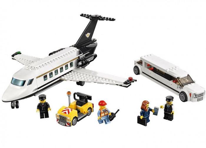 LEGO City - Servicii VIP pe aeroport 60102 foto mare