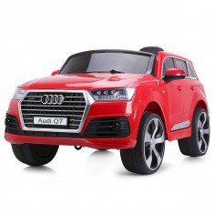 Masinuta electrica Chipolino SUV Audi Q7 Red - Masinuta electrica copii