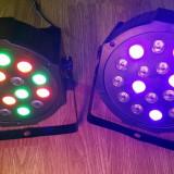 Par led lumini disco RGB 18 leduri DMX