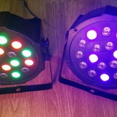 Par led lumini disco RGB 18 leduri DMX - Lumini club