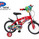 Bicicleta 14 Mickey Mouse Club House - Toimsa - Bicicleta copii