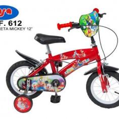Bicicleta 12 Mickey Mouse Club House - Toimsa - Bicicleta copii