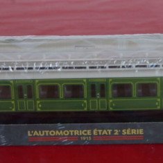 Macheta locomotiva L`Automotrice Etat 2 Serie - 1915, HO, Locomotive