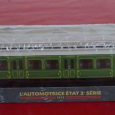 Macheta locomotiva L`Automotrice Etat 2 Serie - 1915 - Macheta Feroviara, HO, Locomotive