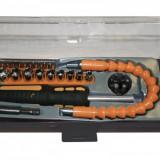 Set tubulare 29pcs 1/4 5-13mm Raider 330531 - Cheie tubulara