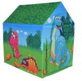 Cort de joaca pentru copii Casuta lui Dino, Multicolor, Knorrtoys