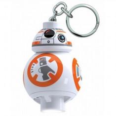Breloc cu lanterna LEGO BB8 (LGL-KE101) - Breloc copii