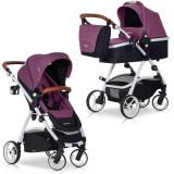 Carucior nou-nascuti Optimo 2 in 1 - Easy Go - Purple - Carucior copii 2 in 1