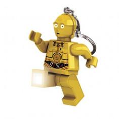Breloc cu lanterna LEGO C-3PO LGL-KE18 - Breloc copii