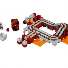 LEGO Minecraft - Calea Ferata Nether 21130