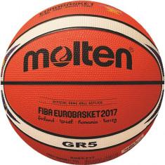 Minge baschet Molten numarul 5, editie limitata EuroBasket 2017, din cauciuc, Marime: 5