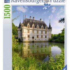 Puzzle Ravensburger CASTELUL AZAY LE RIDEAU 1500 piese