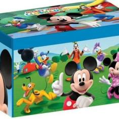 Cutie pentru depozitare jucarii Disney Mickey Mouse - Sistem depozitare jucarii, Multicolor