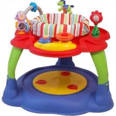 Centru de joaca cu activitati multiple Rainbow - Tarc de joaca Baby Mix, Multicolor
