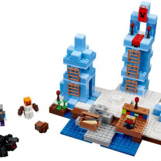 LEGO Minecraft - Crampoanele de Gheata 21131