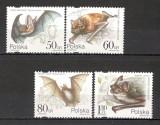 Polonia.1997 Animale-Lilieci  SP.621, Nestampilat
