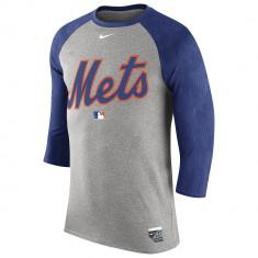 Nike MLB AC DF Wordmark 3/4 Sleeve Top | produs 100% original, import SUA, 10 zile lucratoare - eb270617a - Tricou barbati Nike, Maneca scurta