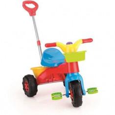 Prima mea tricicleta cu maner - Rapida - Tricicleta copii
