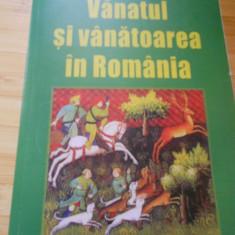 V. COTTA--VANATUL SI VANATOAREA IN ROMANIA