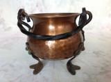 Caldarusa decorativa din cupru