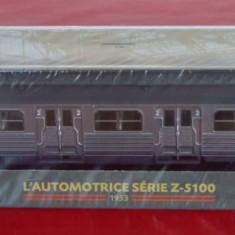 Macheta locomotiva L`Automotrice Serie Z-5100 - 1953 - Macheta Feroviara, HO, Locomotive