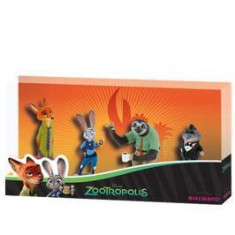 Set 4 figurine - Zootropolis - Figurina Animale Bullyland