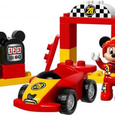 LEGO Duplo - Masina de curse a lui Mickey 10843
