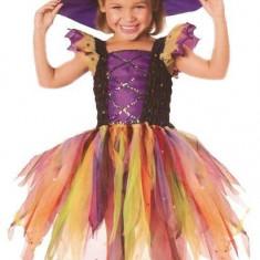 Costum de carnaval - Vrajitoarea Curcubeu - Costum carnaval