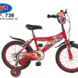 Bicicleta 16 Cars - Toimsa - Bicicleta copii