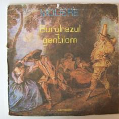 Disc vinil MOLIERE - Burghezul gentilom (EXE 02619 / 02620 - disc dublu) - Muzica soundtrack electrecord