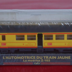 Macheta locomotiva L`Automotrice du Train Jaune - La Motrice Z-105 - 1909, HO, Locomotive