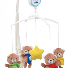Carusel muzical Star Bears - Carusel patut Baby Mix, Multicolor