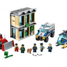 LEGO City - Spargere cu buldozerul 60140