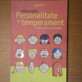 PERSONALITATE SI TEMPERAMENT-PATRICIA HEDGES - Carte Psihologie
