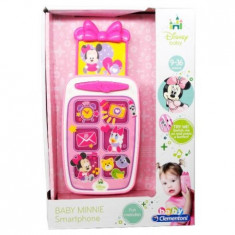 Smartphone Minnie Mouse - Jucarie interactiva Clementoni