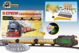 Trenulet electric calatori Expresul Transiberian - Pequetren, Seturi complete