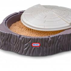 Cutie pentru nisip trunchi copac - Little Tikes - Jucarie nisip