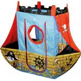 Cort de joaca pentru copii Corabia Piratilor, Multicolor, Knorrtoys