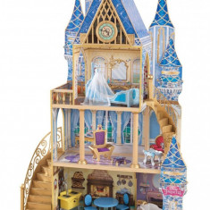 Casuta pentru papusi Cinderella Royal Dream Kidkraft, Multicolor