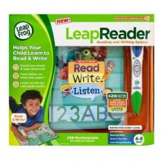 Sistem de citire si scriere LeapReader - Verde - Jocuri Litere si Cifre